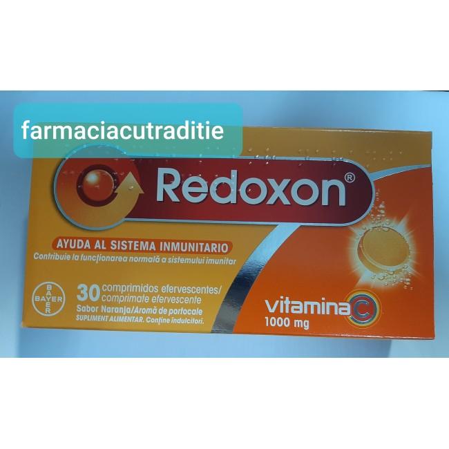REDOXON VITAMINA C 1000MG PORTOCALE X 30 comprimate efervescente