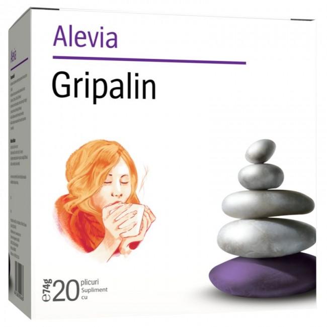 ALEVIA GRIPALIN CEAI 20 PLICURI
