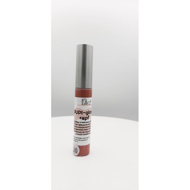 LIP GLOSS cu SPF, natural si aromat cu capsune si pepene