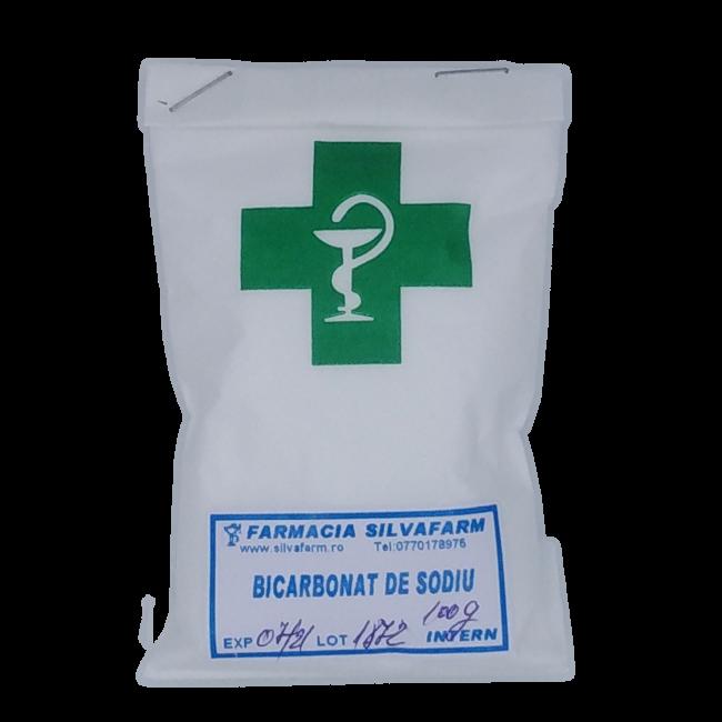 BICARBONAT DE SODIU FARMACEUTIC 100 g