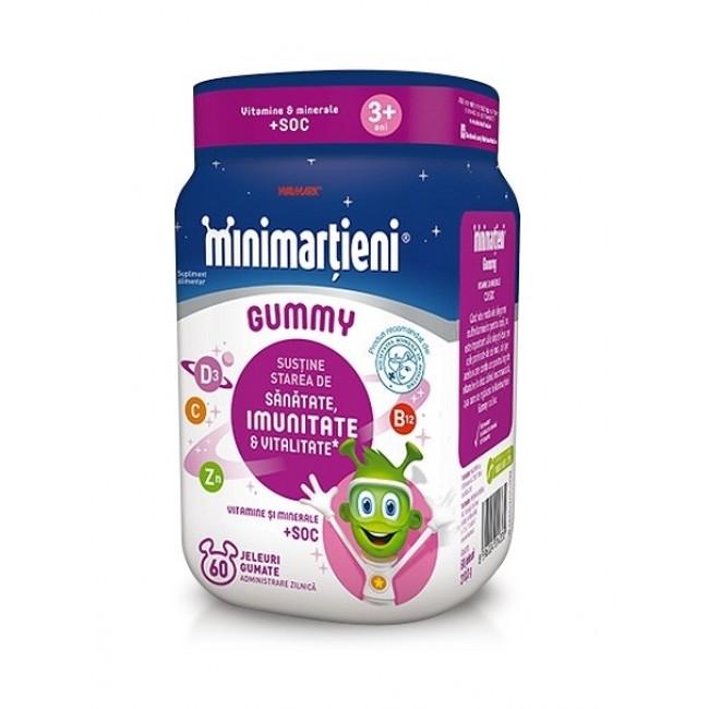 WALMARK Minimartieni Gummy cu soc, 60 jeleuri