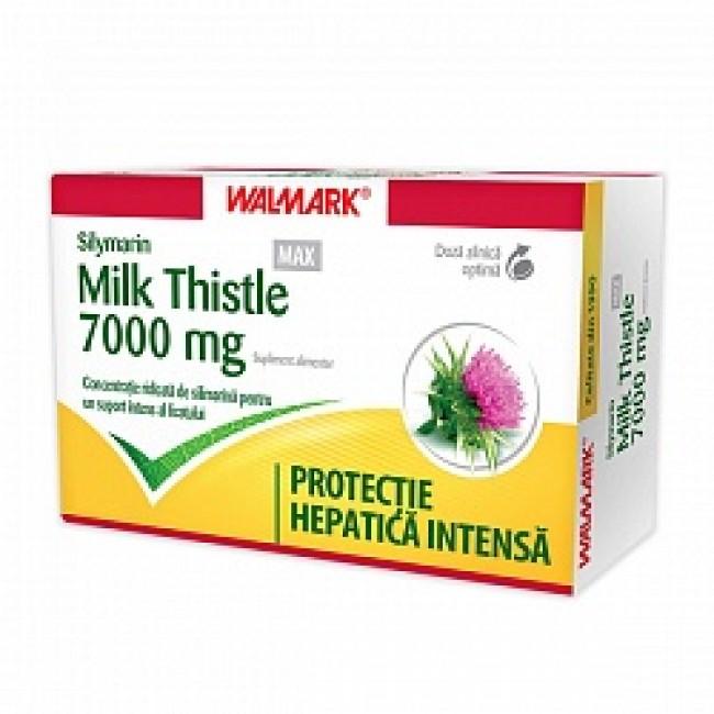 WALMARK SILIMARIN MYLK THISTLE MAX 7000mg 30 comprimate