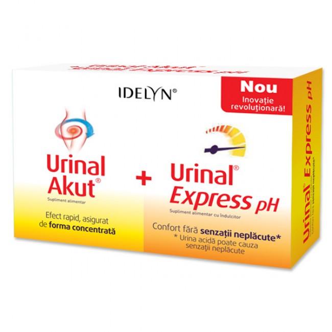 WALMARK URINAL 10 tablete + URINAL Express pH 6 plicuri