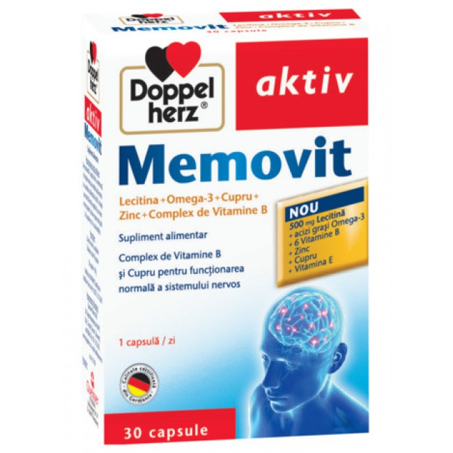 DOPPELHERZ MEMOVIT 30 capsule