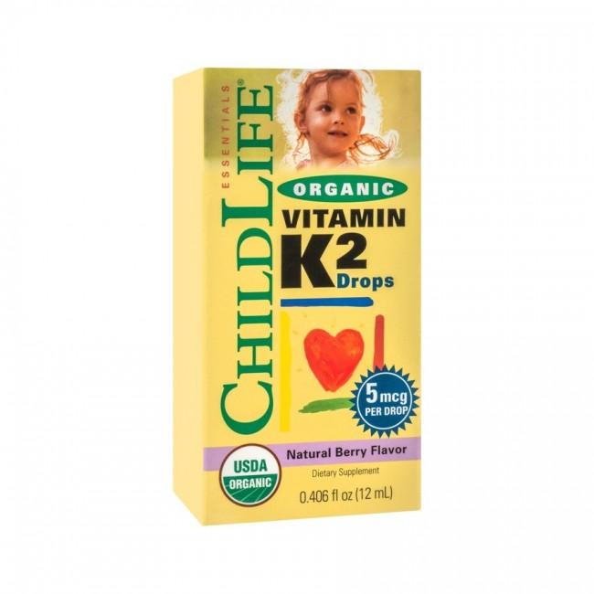 SECOM Vitamin K2 (copii) 15 mcg