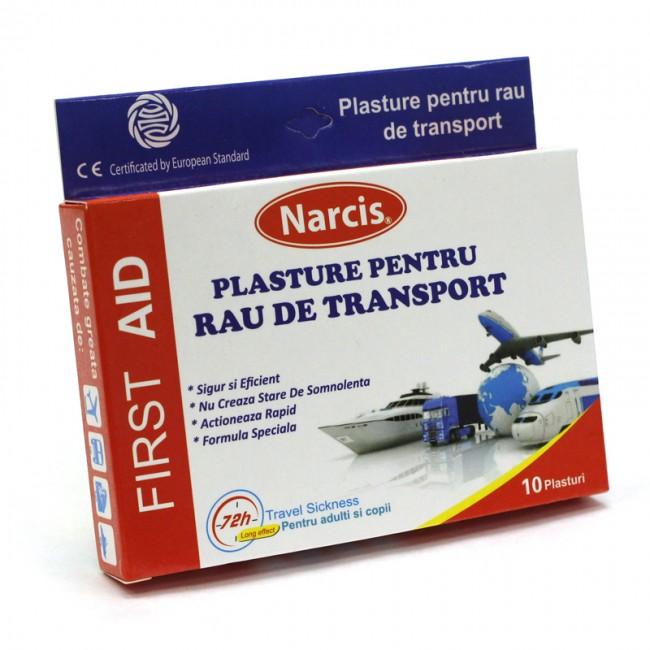 PLASTURE PENTRU RAU DE TRANSPORT 10 plasturi