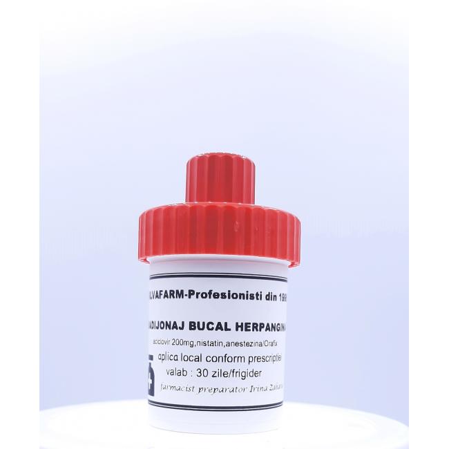 BADIJONAJ BUCAL tratament HERPANGINA 30g