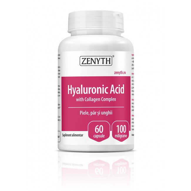 HYALURONIC ACID 60 CPS. ZENYTH