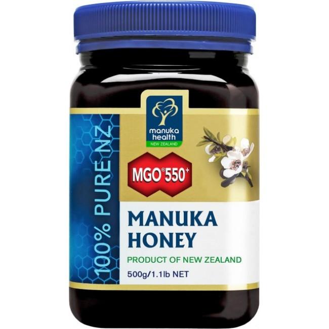 Miere de manuka MGO 550 + 500g Manuka Health