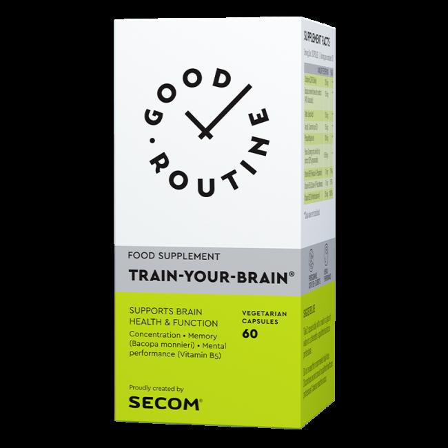 TRAIN YOUR BRAIN GOOD ROUTINE 60 capsule, Secom