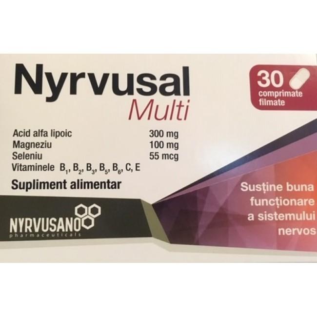 NYRVUSAL Multi 30 comprimate filmate