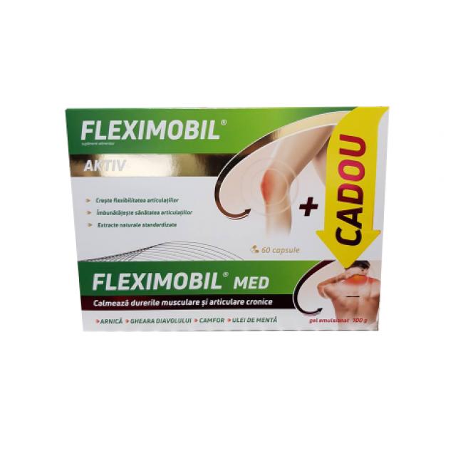 Fiterman Fleximobil 60 capsule + Fleximobil MED gel 100g  CADOU