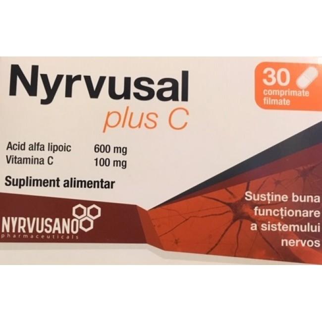 NYRVUSAL Pluc C 30 comprimate filmate