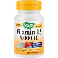 SECOM Vitamin D3 5000UI 60 capsule Nature's Way