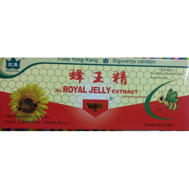 ROYAL JELLY fiole buvabile x 10 bucati