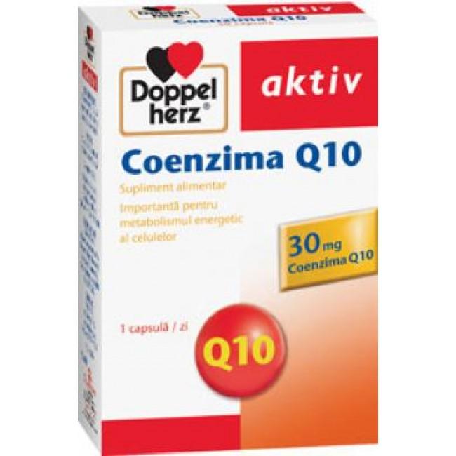 DOPPELHERZ COENZIMA Q10 PLUS 30 capsule