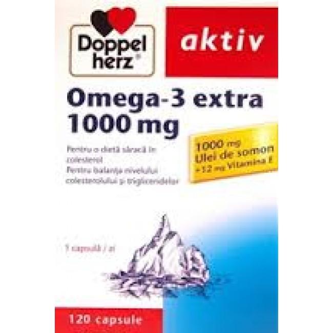 DOPPELHERZ OMEGA-3 EXTRA 1000mg 120 capsule