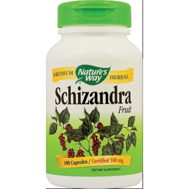 SECOM SCHIZANDRA 580mg Nature's Way 100 capsule