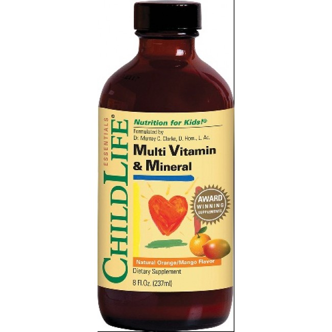 SECOM MULTI VITAMIN & MINERAL ChildLife 237 ml