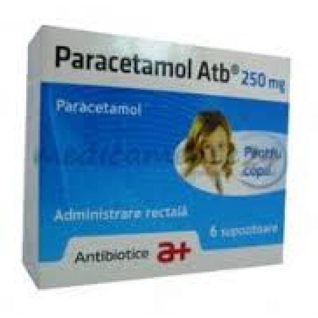 PARACETAMOL 250 mg SUPOZITOARE