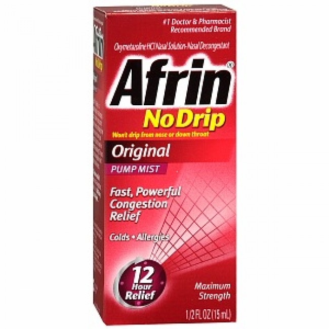 AFRIN spray nazal 0.5mg/ml