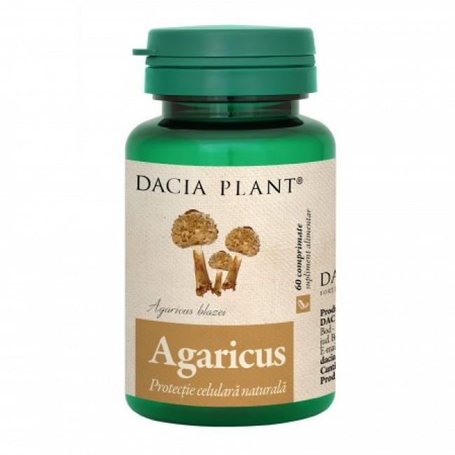 DACIA PLANT AGARICUS 60 comprimate