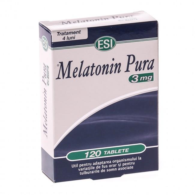 ESI MELATONINA PURA 3mg 120 comprimate