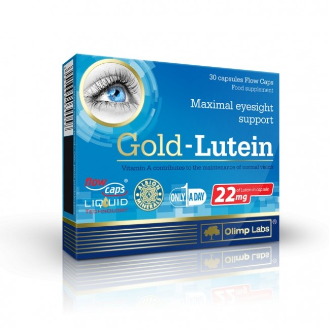GOLD LUTEIN 22mg 30 capsule