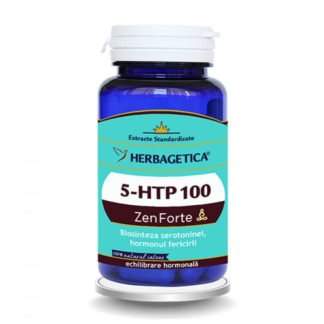 HERBAGETICA 5-HTP 100 Zen Forte 60 capsule