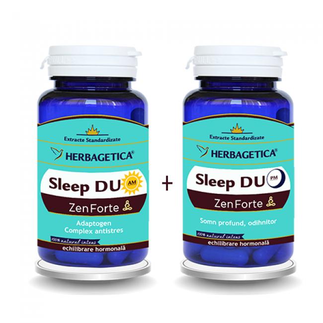 HERBAGETICA Sleep Duo AM/PM Zen Forte 60 capsule + 60 capsule