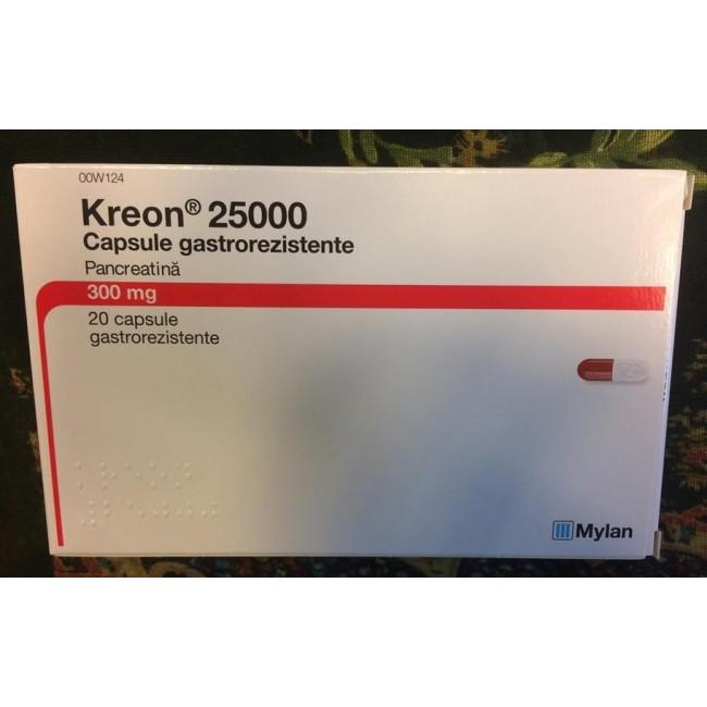 KREON 25000 U.I.*20 comprimate