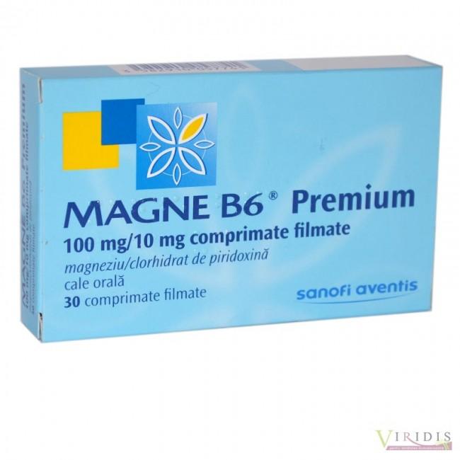 MAGNE B6 PREMIUM 30 comprimate filmate