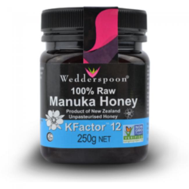 Miere De Manuka Kfactor 12 Raw 100% Naturala 250g