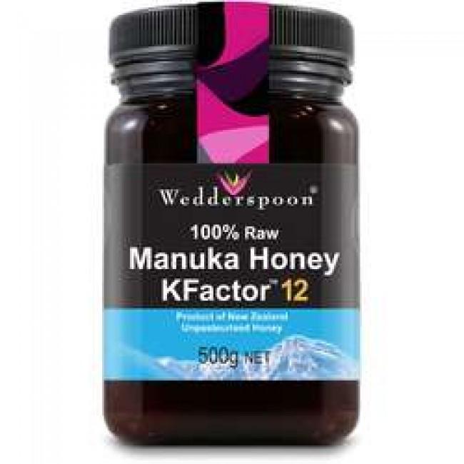 Miere De Manuka KFactor 12 RAW 100% Naturala 500g