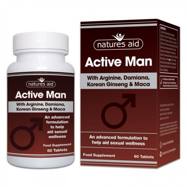 NATURES AID ACTIVE MAN 60 tablete