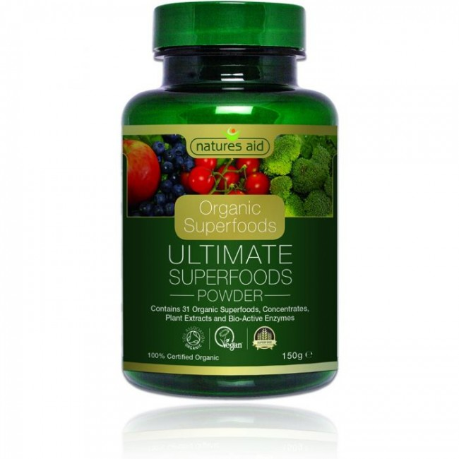 NATURES AID ULTIMATE SUPERFOODS pulbere 150g