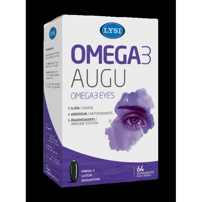 OMEGA-3 Ochi Sanatosi LYSI 64 capsule