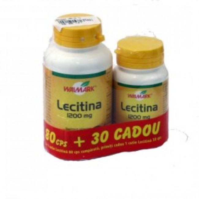 WALMARK LECITINA 1200mg 80+30 tablete OFERTA