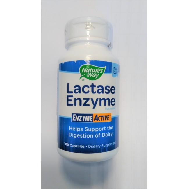 SECOM LACTASE ENZYME 100 capsule (NATURE'S WAY)
