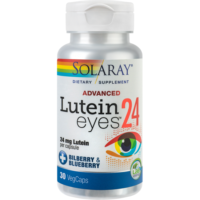 SECOM LUTEIN EYES ADVANCED Solaray 30 capsule