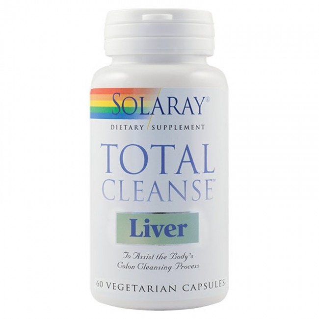 SECOM TOTAL CLEANSE LIVER Solaray * 60 capsule