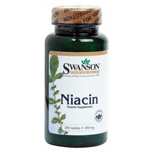 SWANSON  VITAMINA B3 ( NIACINA 100mg )